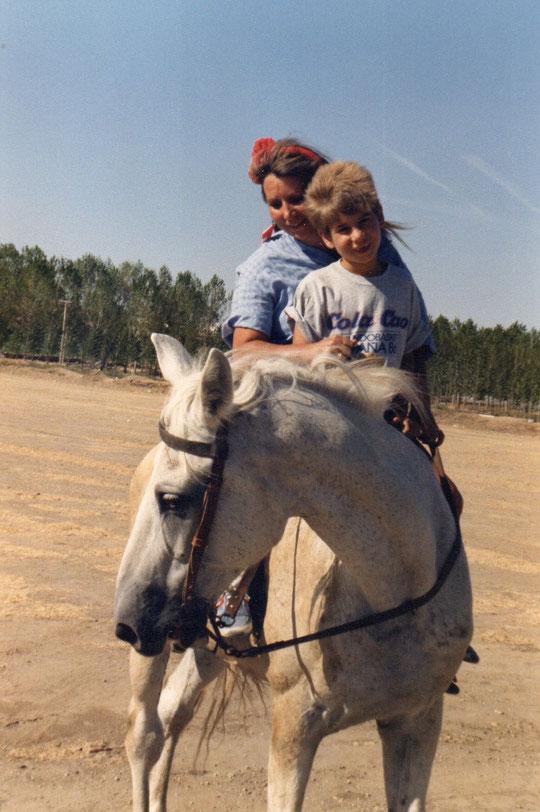 ¡  Todos con la melena al viento, incluido el caballo !