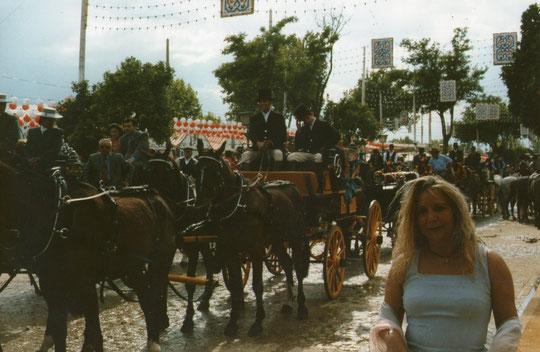 Y  muy concurrido............El real es de los caballos. F. P. Privada. Pedro.