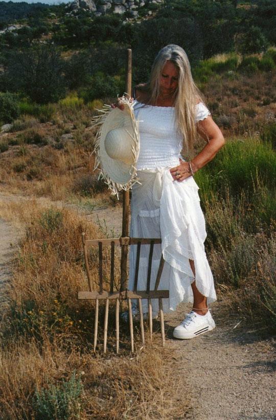 Bielda para cargar la paja, propiedad de mi padre. Foto de Pedro. P. Privada.
