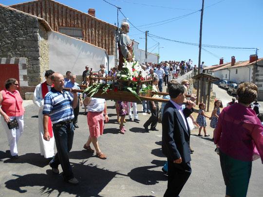 San Pedro 2012.  ! A girar !