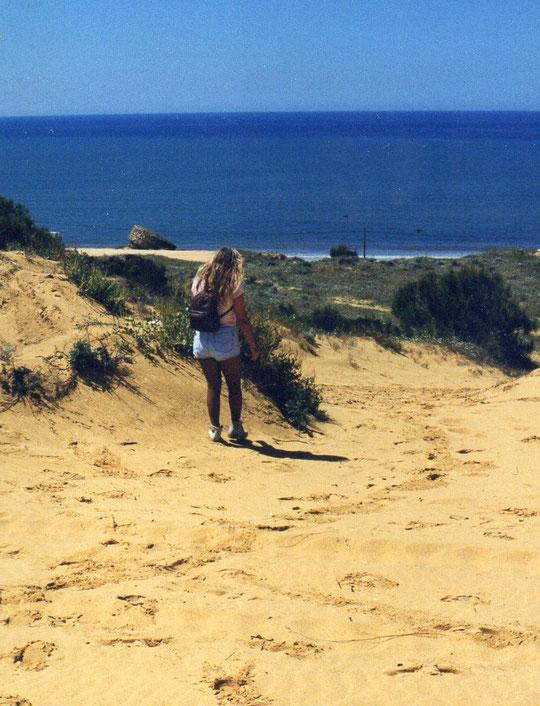 Dunas en Doñana......... un paseito por ellas. F. Pedro.