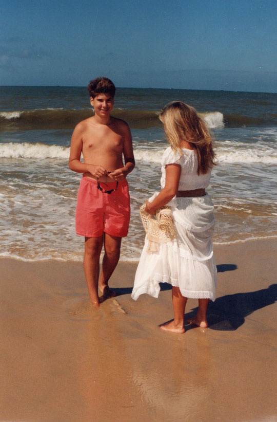 Un bonito día de playa. F. Pedro. P. Privada.