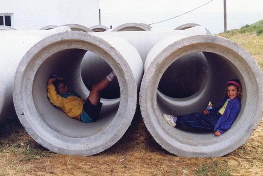 Los tubos.