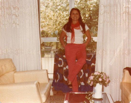 Hoy 21/ del / 5 / 1979: Salimos de luna de miel con destino Canarias. F. Pedro. P. Privada.