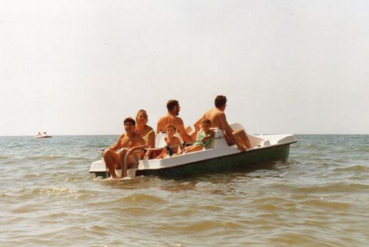 ¡ Todos arriba ! ..................a navegar.
