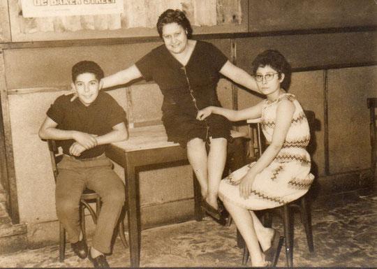 Nosa, Mary y el peque. F. P. Privada.