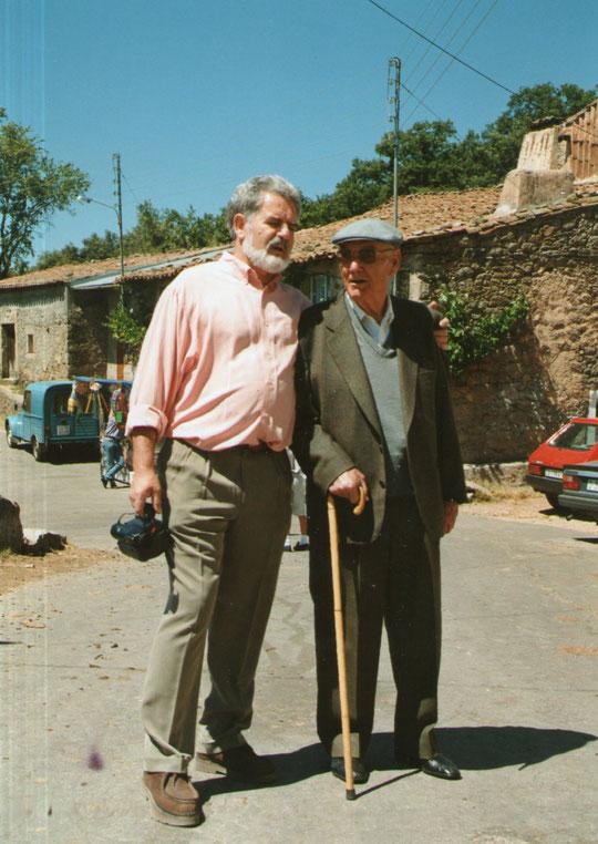 Pedro y tío Blas. F. Merche.