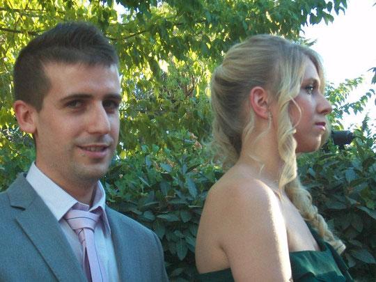 La juventud en la boda.