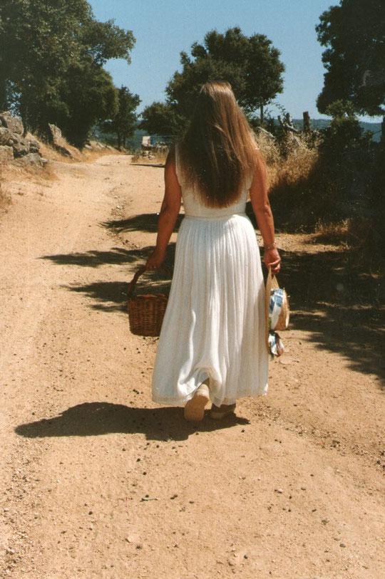 Por el camino de Ledrada.