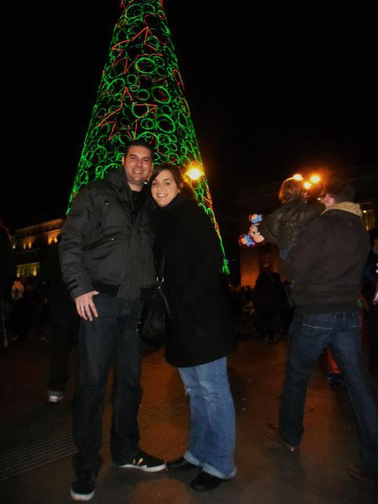 Navidad. Puerta del Sol.