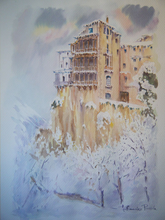 Cuenca. ( Acuarela )