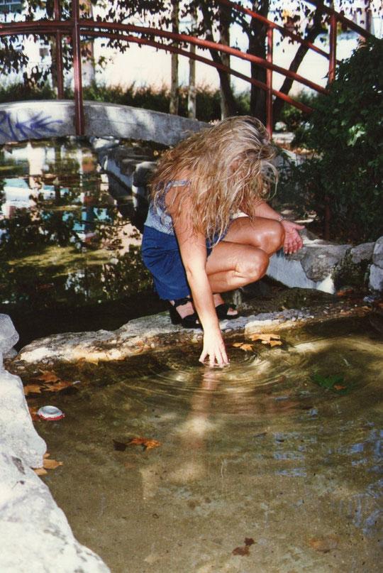 El estanque. F. Pedro.