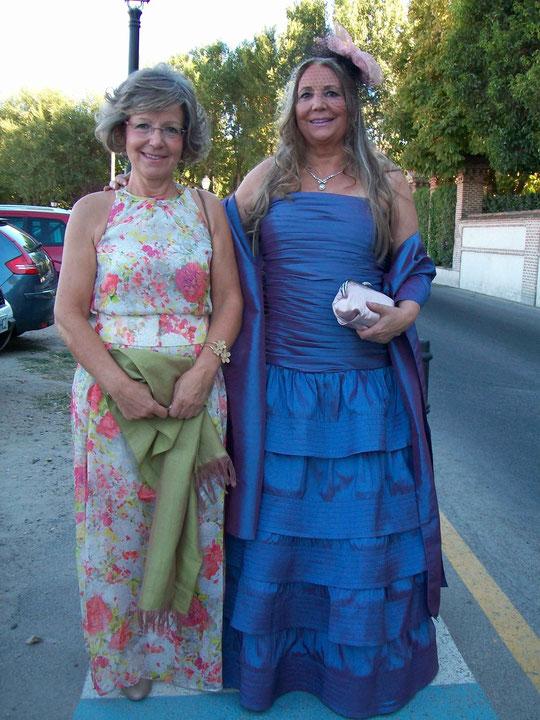 Madrina y tía de Javi. F. P. Privada.