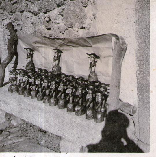 Cabezas de Quijote, todas distribuidas para Toledo. F. P. Privada.