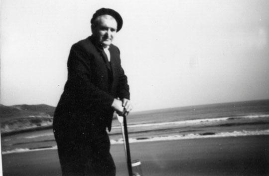 El abuelo paterno: Pedro. F. P. Privada.