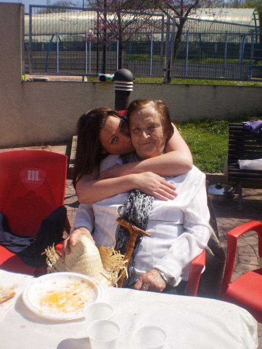 Cristina y Gaby.......