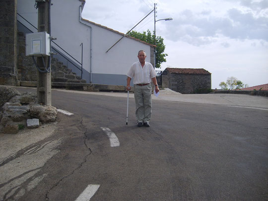 El Sr. Manolo, muy querido por nosotros. F. de Merche.P. Privada.