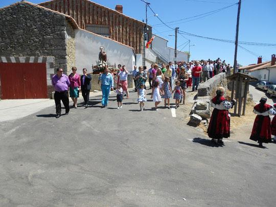 San Pedro 2012. ¡  Sale la procesión ! F. Pedro.