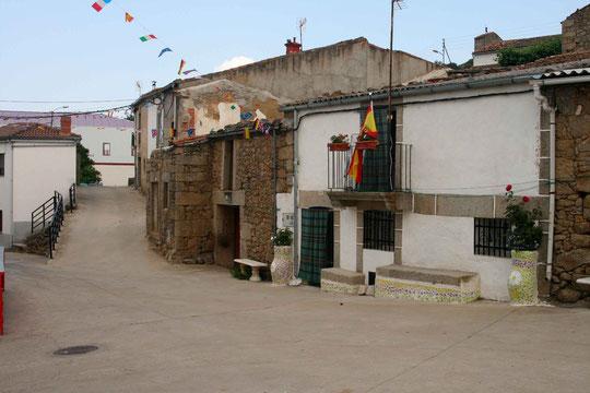 Casa de la abuela Genara. Este año 2010 ganó España el mundial de futbol. F. Merche.