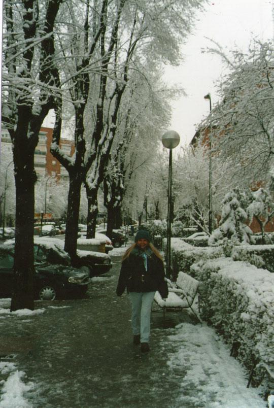 ¡¡ Gélido invierno !! F. Pedro. P. Privada.