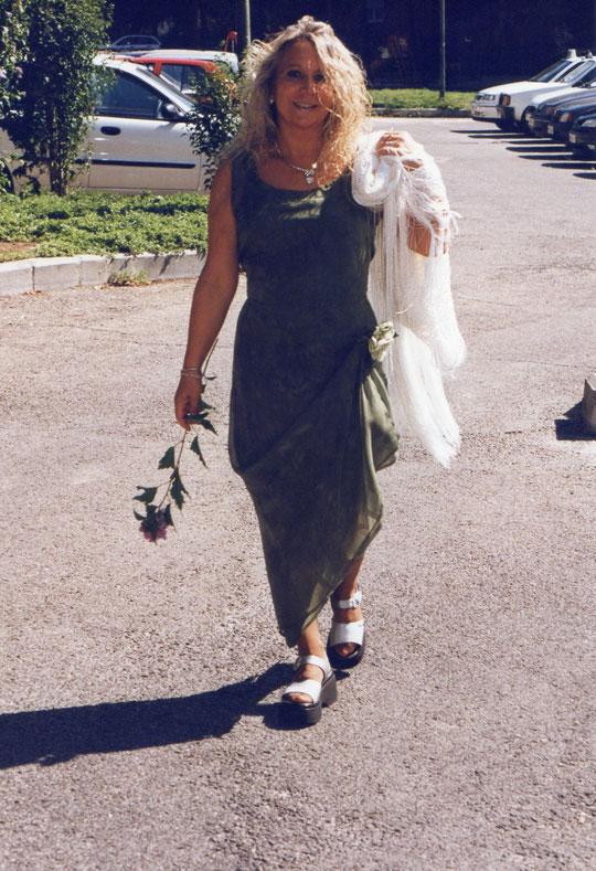 Voy a la boda de la hija de Hortensia.