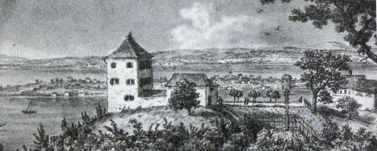 Sandegg; N. Hug, um 1830