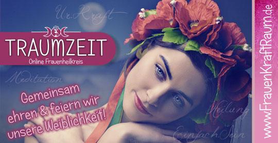 Frauentempel Frauenheilkreis Frauenheilkunde Urkraft Weiblichkeit Traumzeit Naturheilpraxis Dietrich Traumzeit