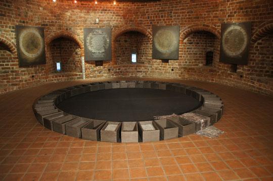 """""""Sturmflut"""", Installation im Marschtorzwinger Buxtehude"""