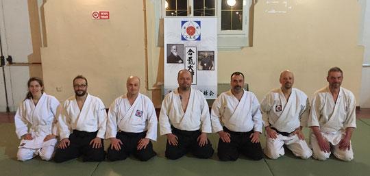 I partecipanti al Ronin Club Keiko del 16/02/2019 a Gorizia