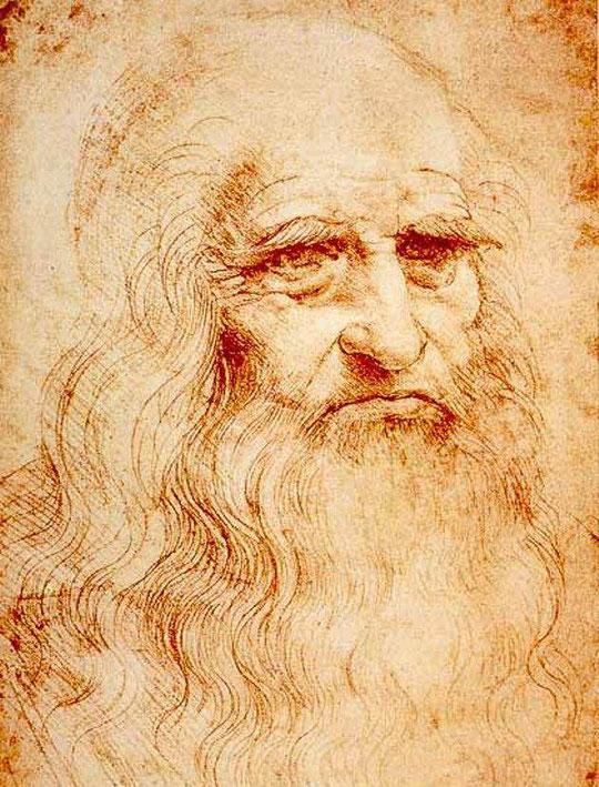 'Autoritratto di Leonardo da Vinci è un disegno a sanguigna su carta (33,5x21,6 cm), databile al 1515 circa e conservato nella Biblioteca Reale di Torino