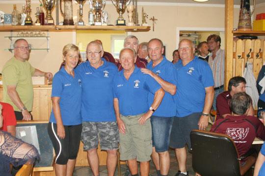 Beste Hohenauer Mannschaft: Hohenau 1 mit dem 4. Platz
