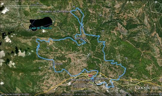 RECORRIDO LARGO 60 KM.