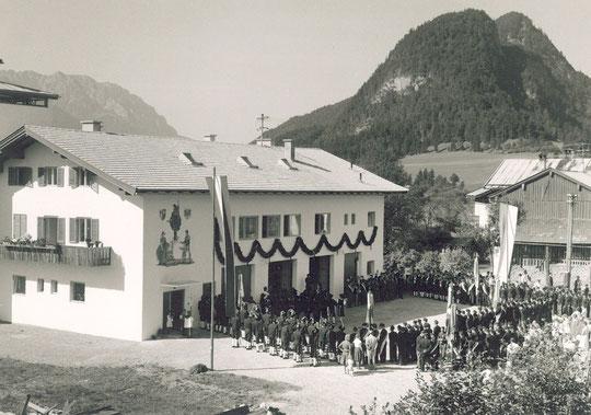 Einweihung des Feuerwehrgrätehauses 1961