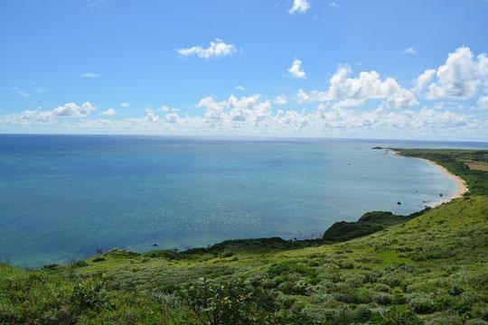 石垣の海(平野海岸)