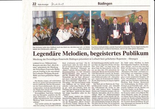 Kreis-Anzeiger vom 30.04.2013