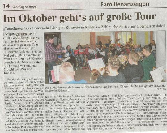 Sonntag-Anzeiger vom 18. März 2012