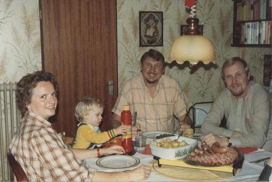 Renate, Stephan, Erhard und Dieter dito