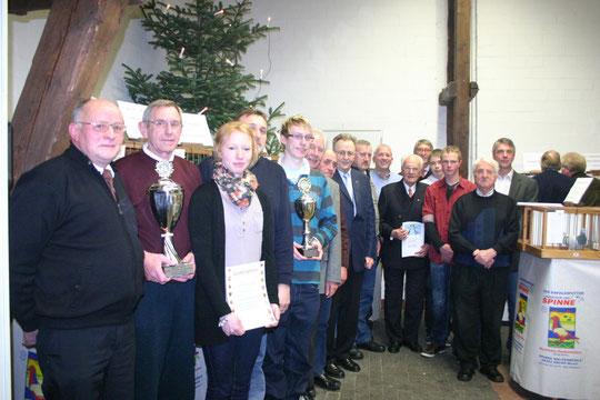 Sieger der Regionalausstellung und der abgelaufenen Reisesaison 2011