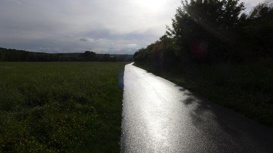 Auf Regen folgt Sonnenschein und immer wieder umgedreht.