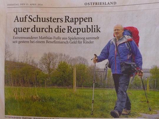Das hat halb Ostfriesland gelesen!