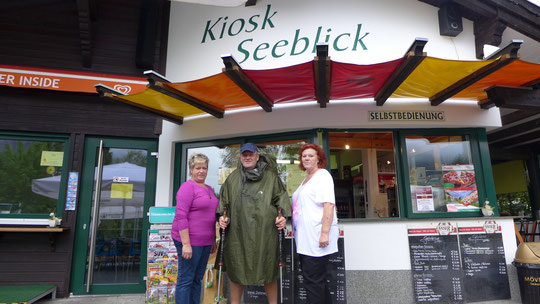 Hier am Kiosk am See war es sehr nett und die Damen haben mir toll geholfen! Danke Ladies