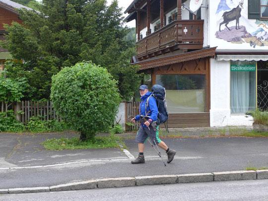 Tagesschlußspurt nach Mittenwald