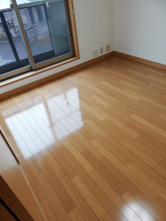 伊勢崎市2DK賃貸アパート空室クリーニング完了後の写真