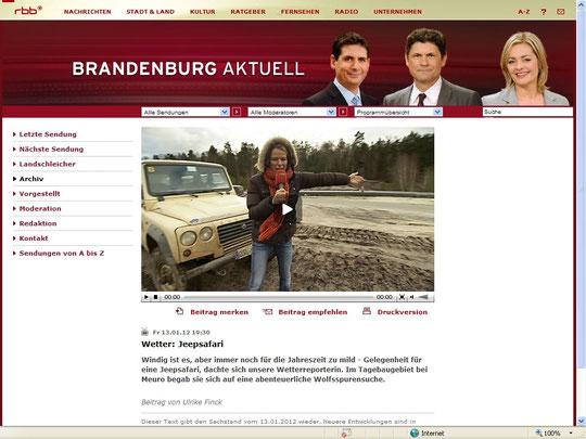 Mit Fetterfee Ulrike Finck unterwegs im Tagebau