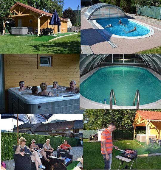 chalet dans les vosges avec piscine 28 images h 233