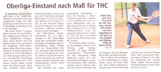 Bericht Landeszeitung 05.05.2010