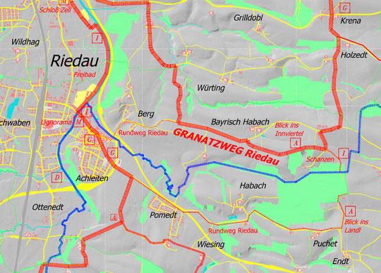 Granatzweg in Riedau