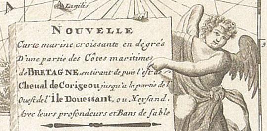 Cartouche de la carte de Gérard Van Keulen