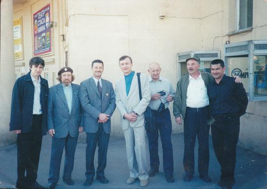 Встреча в Москве, в парке им. Горького.