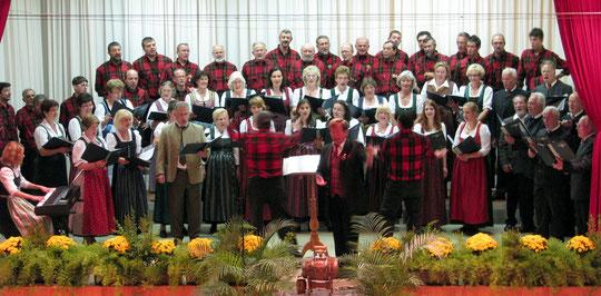 Union-Chor Lambach und Partnerchor La Campagnola